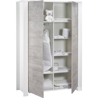 Armoire chambre bébé loft Sauthon meubles