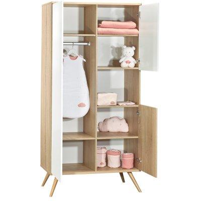Armoire chambre bébé seventies Sauthon meubles