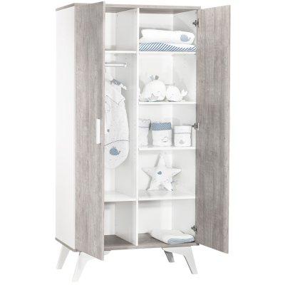 Armoire 2 porte neo Sauthon meubles
