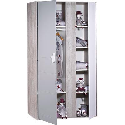 Armoire 2 portes nova Sauthon meubles