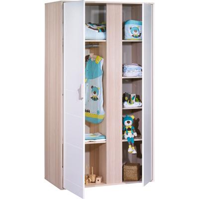 Armoire 2 portes norway Sauthon meubles