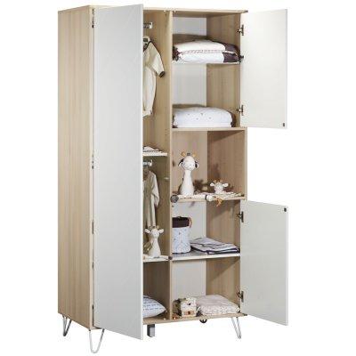 Armoire 3 portes 1 niche happy Sauthon meubles