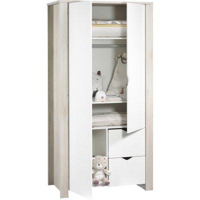 Armoire chambre bébé tipee Sauthon meubles