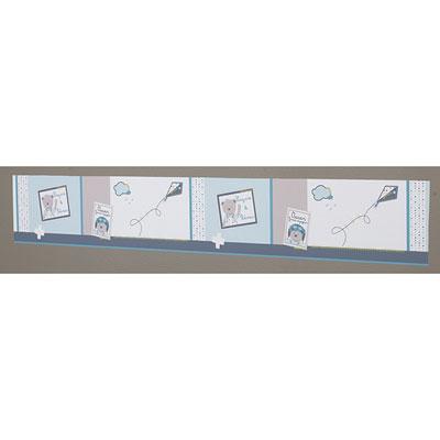 frise murale adh sive lazare de sauthon baby deco chez naturab b. Black Bedroom Furniture Sets. Home Design Ideas