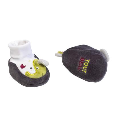 Chaussons bébé 0-6 mois india Sauthon baby deco