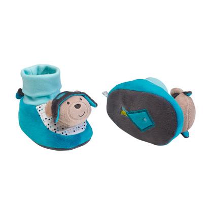 Chaussons bébé 0-6 mois lazare Sauthon baby deco