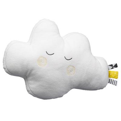Coussin déco bébé nuage babyfan Sauthon baby deco