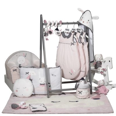 Suspension décorative murale miss fleur de lune Sauthon baby deco