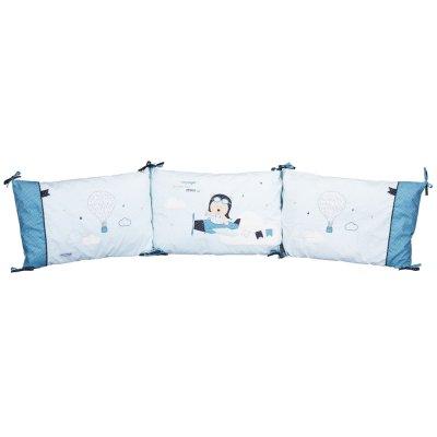 Tour de lit bébé lazare Sauthon baby deco