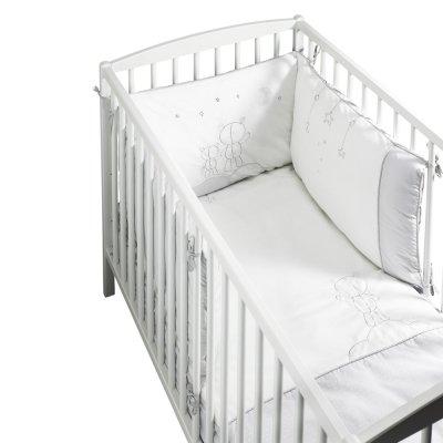 Edredon bébé 60x120cm céleste Sauthon baby deco