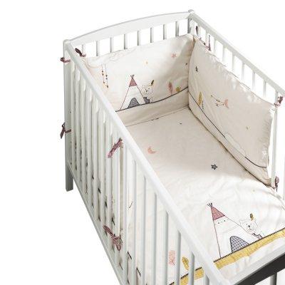 Edredon bébé 60x120cm timouki Sauthon baby deco