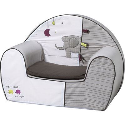 Fauteuil club india Sauthon baby deco