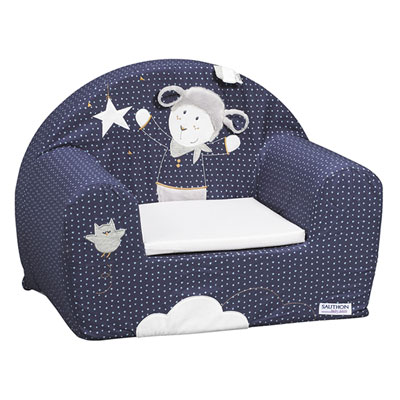 Fauteuil club merlin Sauthon baby deco