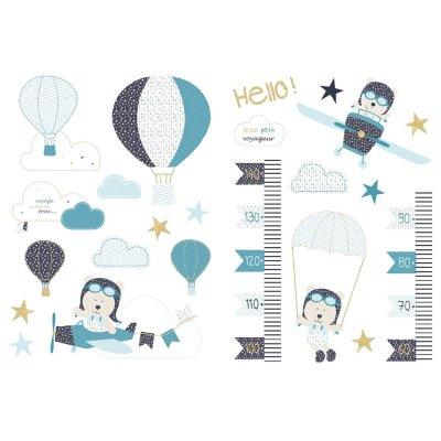 Stickers muraux lazare Sauthon baby deco