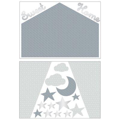 Stickers chambre bébé home céleste Sauthon baby deco