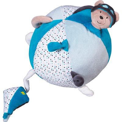 Jouet d'éveil bébé balle lazare Sauthon baby deco