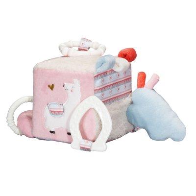 Jouet d'éveil bébé cube d'activités mila Sauthon baby deco