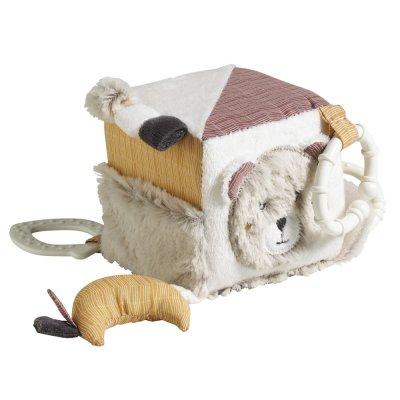 Jouet d'éveil bébé cube d'activités timouki Sauthon baby deco