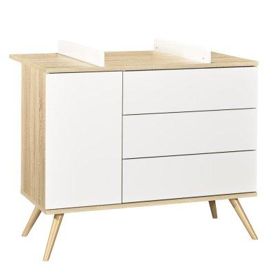 Dispositif à langer seventies Sauthon meubles
