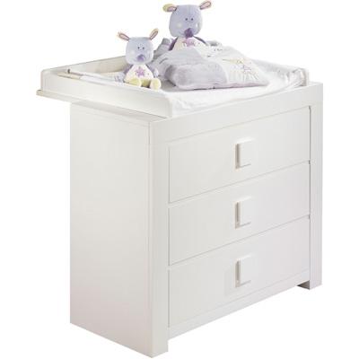 Dispositif à langer grand modèle zen blanc Sauthon meubles