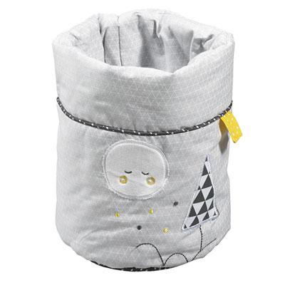 Lot de 3 corbeilles gigogne tissu babyfan Sauthon baby deco