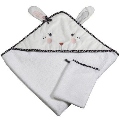 Sortie de bain bébé miss fleur de lune Sauthon baby deco