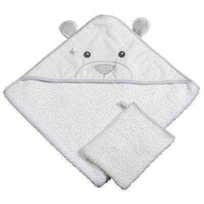 Sortie de bain bébé céleste Sauthon baby deco