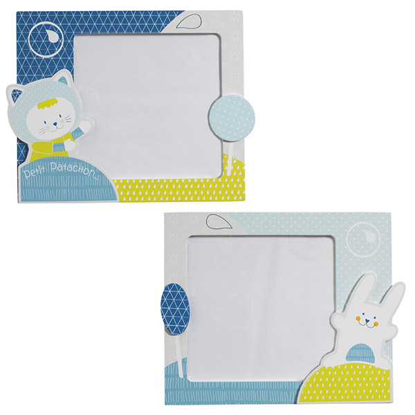 Set de 2 cadres photos patachon Sauthon baby deco