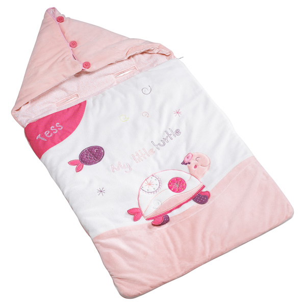 Nid d'ange nomade 80cm tess Sauthon baby deco