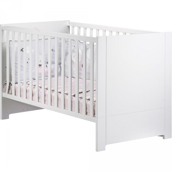 Lit little big bed 70x140cm city blanc
