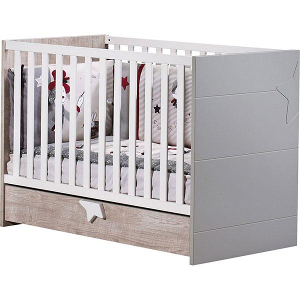 Chambre bébé trio nova 3 éléments Sauthon meubles