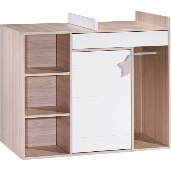 Commode langer volutif en bureau norway 30 sur allob b for Mobilier bureau evolutif