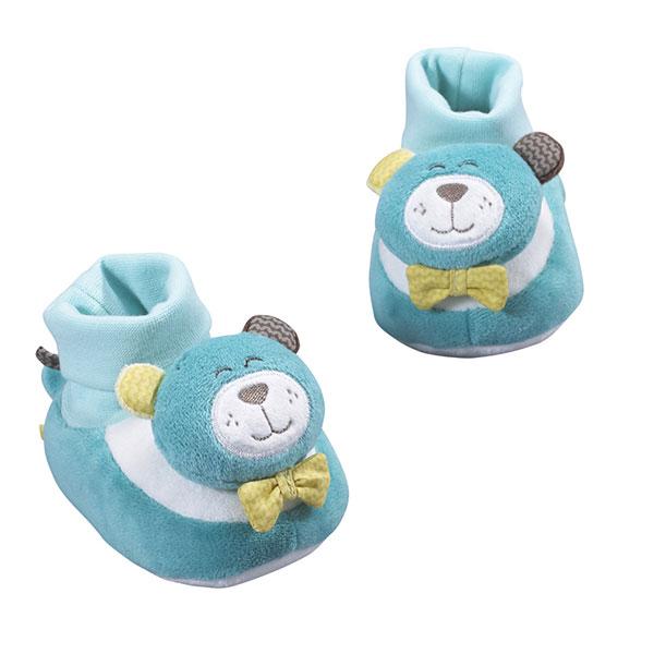 Chaussons bébé 0-6 mois paddy Sauthon baby deco