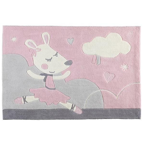 tapis de chambre bebe 90x130cm lilibelle 20 sur allobebe With tapis chambre bébé avec fleur a domicile pas cher