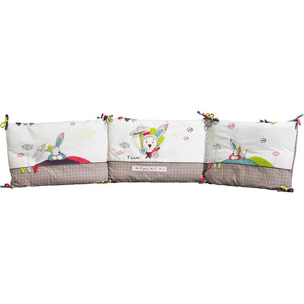 soldes tour de lit b b tinoo 25 sur allob b. Black Bedroom Furniture Sets. Home Design Ideas