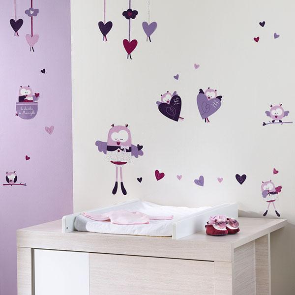soldes stickers muraux mam 39 zelle bou 25 sur allob b. Black Bedroom Furniture Sets. Home Design Ideas