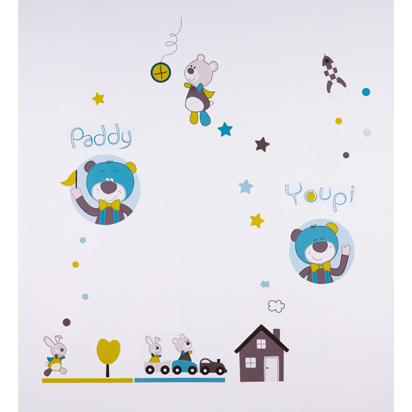 Stickers muraux paddy Sauthon baby deco