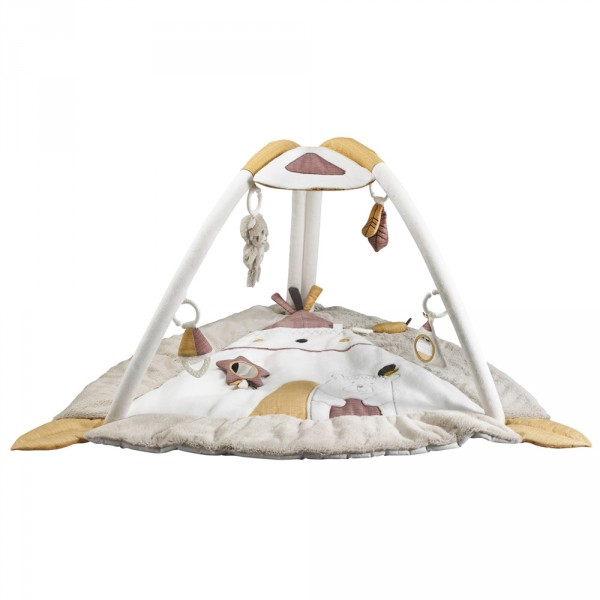 tapis d 39 veil timouki de sauthon baby deco chez naturab b. Black Bedroom Furniture Sets. Home Design Ideas