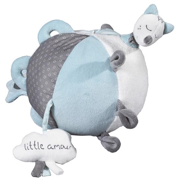 Jouet d'éveil bébé balle lulu chéri Sauthon baby deco