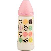 Biberon tétine physioloque silicone panda roe 360 ml
