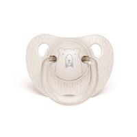 Sucette physiologique ours 0-6 mois gris