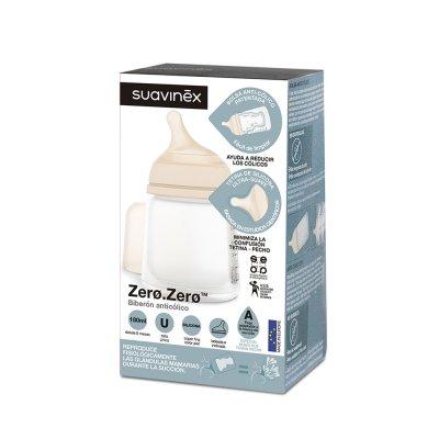Biberon spécial allaitement zero zero 180ml Suavinex