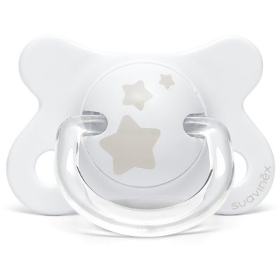 Coffret naissance biberons my essentiel étoiles blanc Suavinex