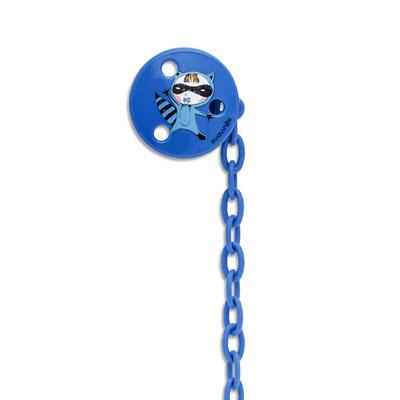 Attache sucette super héros bleu Suavinex