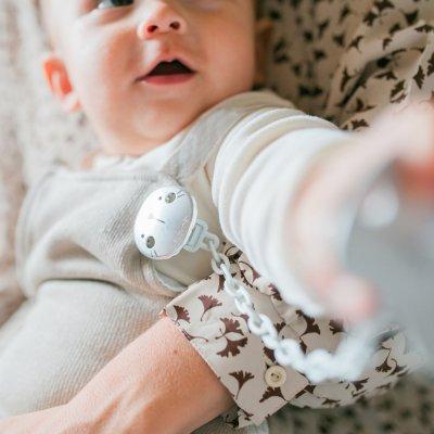Attache sucette hygge baby chaine Suavinex