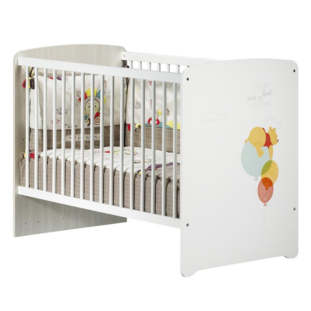 lit b b 60x120cm winnie de baby price sur allob b. Black Bedroom Furniture Sets. Home Design Ideas