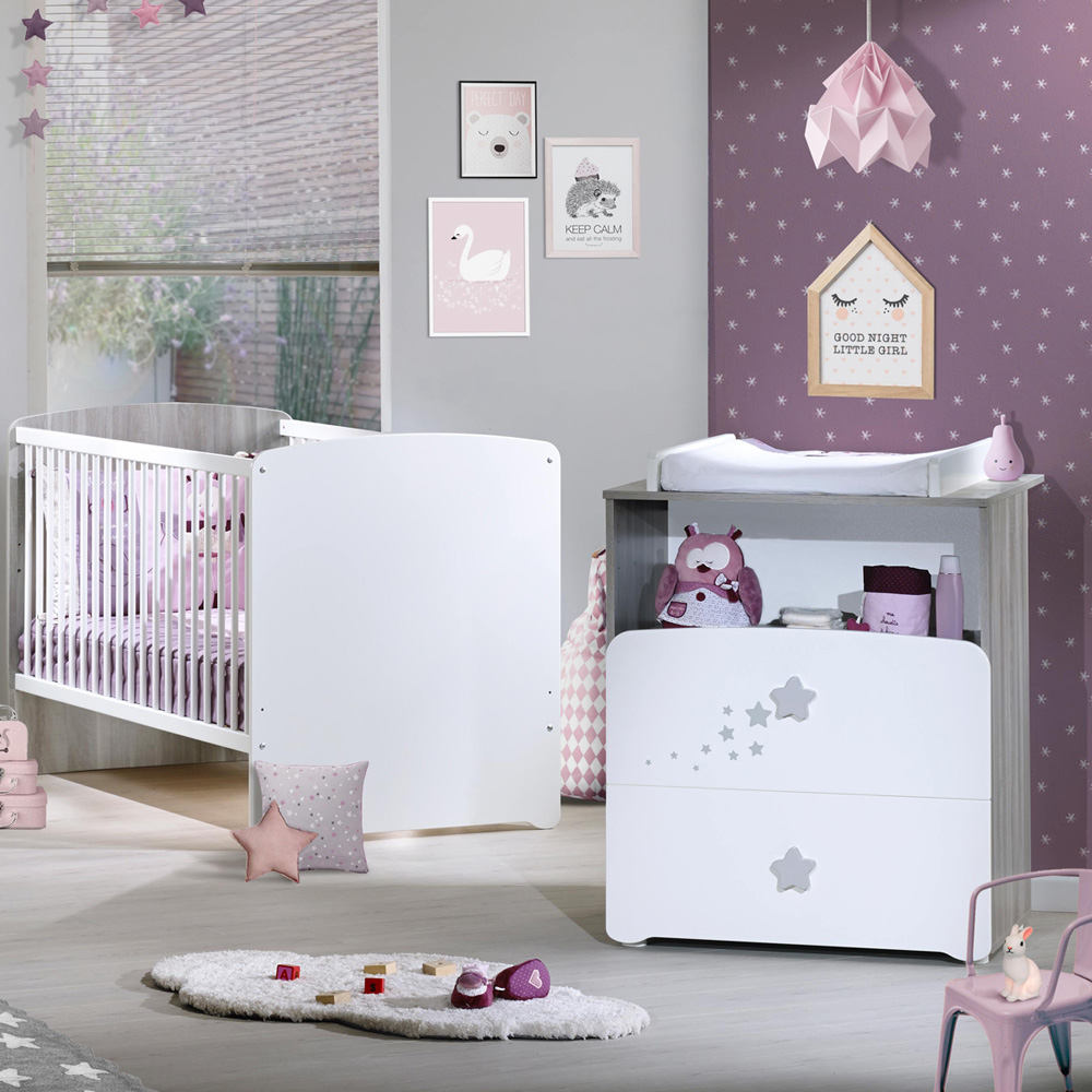 lit b b volutif little big bed 70x140cm nao de baby price. Black Bedroom Furniture Sets. Home Design Ideas