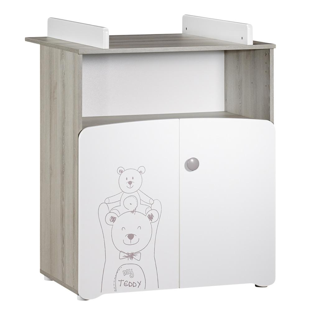Chambre Bebe Teddy : Chambre bébé trio teddy lit cm commode armoire