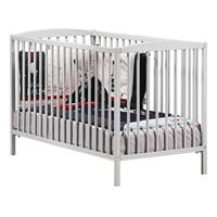 Lit bébé à barreaux 60x120cm nao gris
