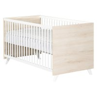 Lit bébé évolutif little big bed 70x140cm scandi naturel
